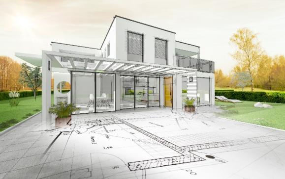 Architecte plan maison